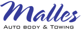 Malles Auto Body & Towing Logo